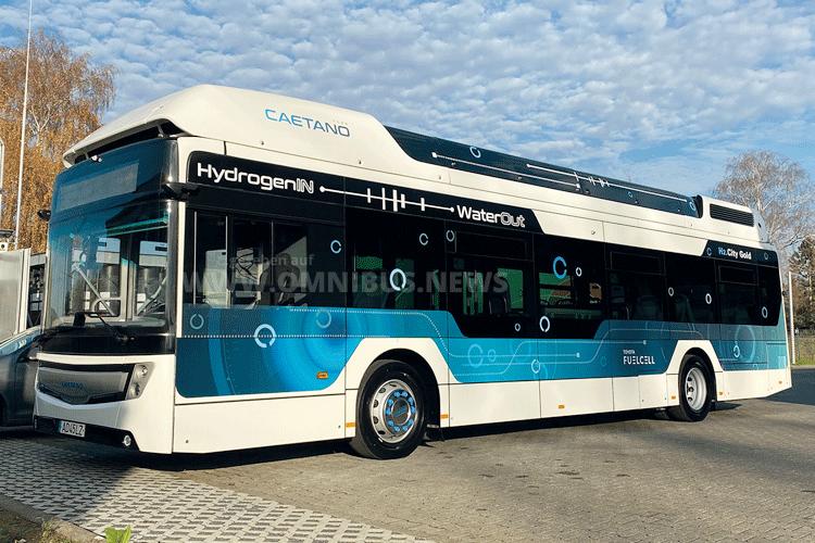 RVK testet Caetano H2-Bus