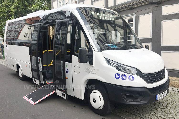 1. E-Stadtbus in Nordhessen
