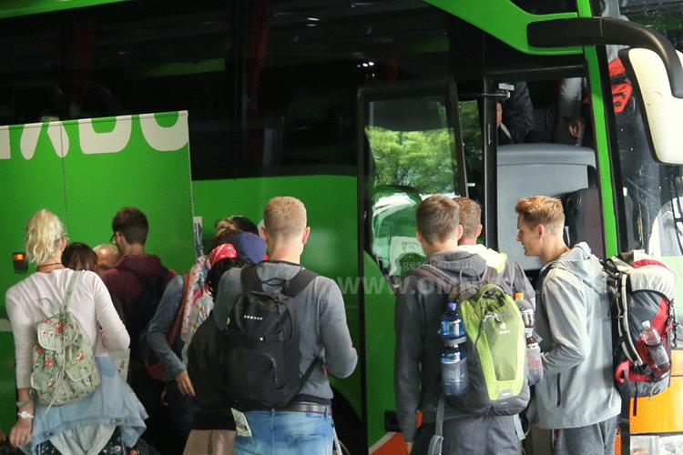 Flixbus fährt zum Fest