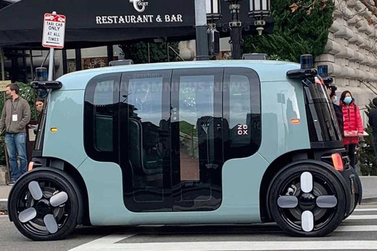 Amazons autonomer Bus