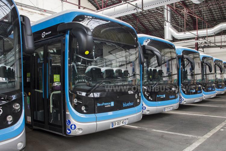 109 Bluebus für Paris