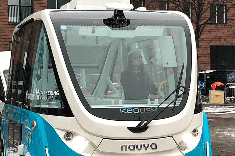Autonom durch Göteborg
