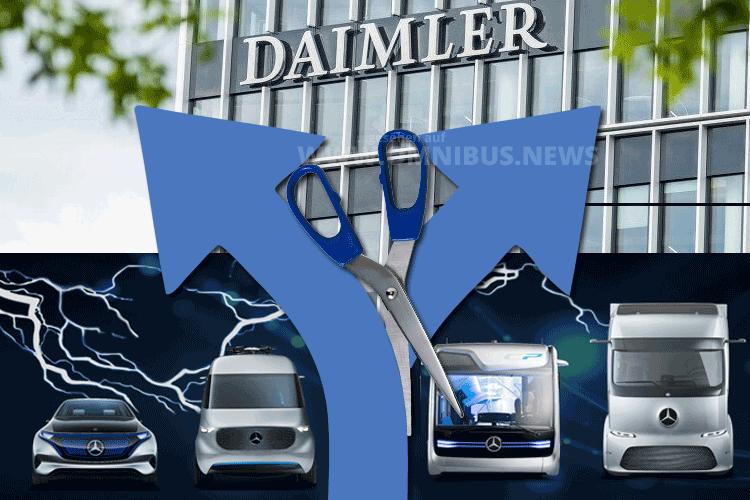 Daimler teilt sich auf