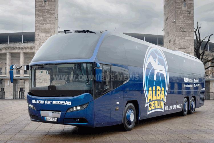 Alba Berlin fährt Cityliner