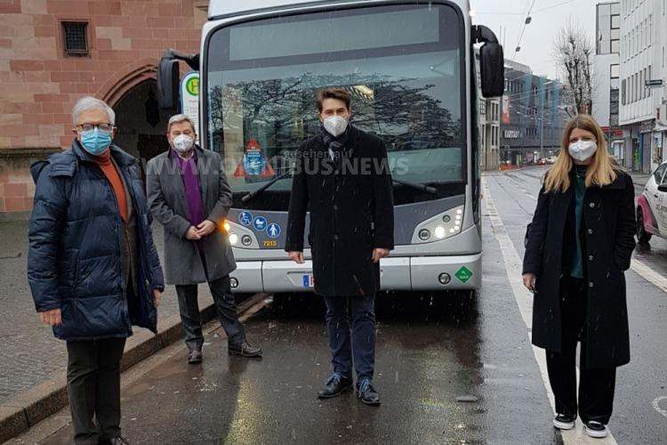 Saarbahn testet H2-Bus