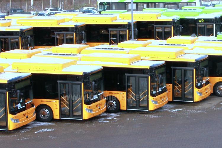 55 weitere E-Busse für DK