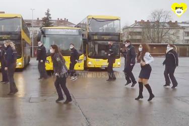 BVG tanzt Jerusalema