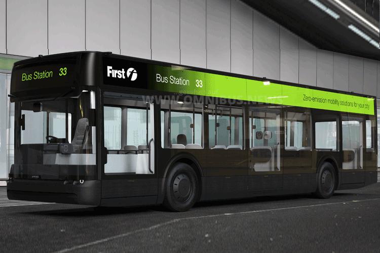 FirstBus testet Arrival E-Bus