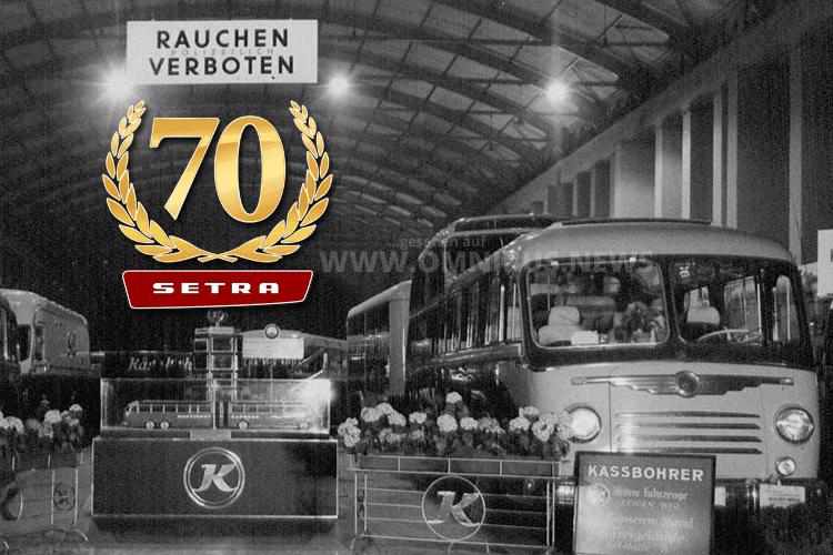 70 Jahre Setra
