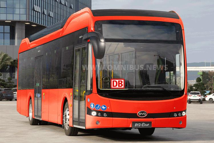 Fünf BYD für DB RegioBus
