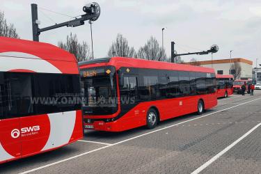 E-Bus-Überführungsfahrt