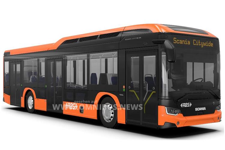 Scania E-Busse für RBS & BSU