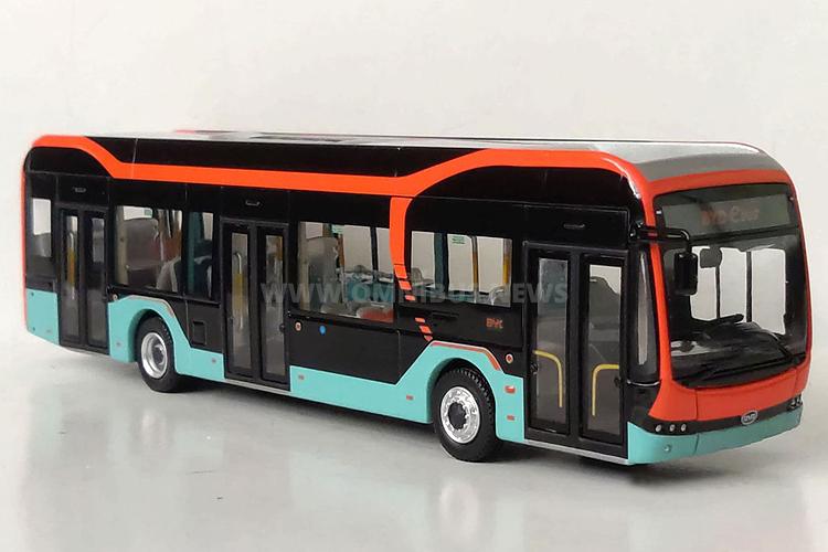 Neuer Modellbus von BYD