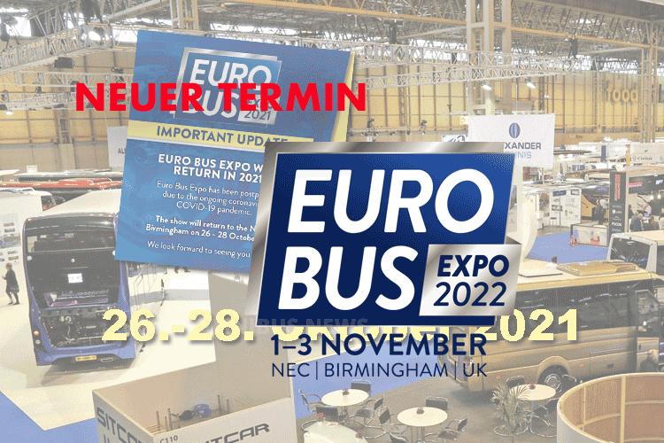 Euro Bus Expo erst 2022