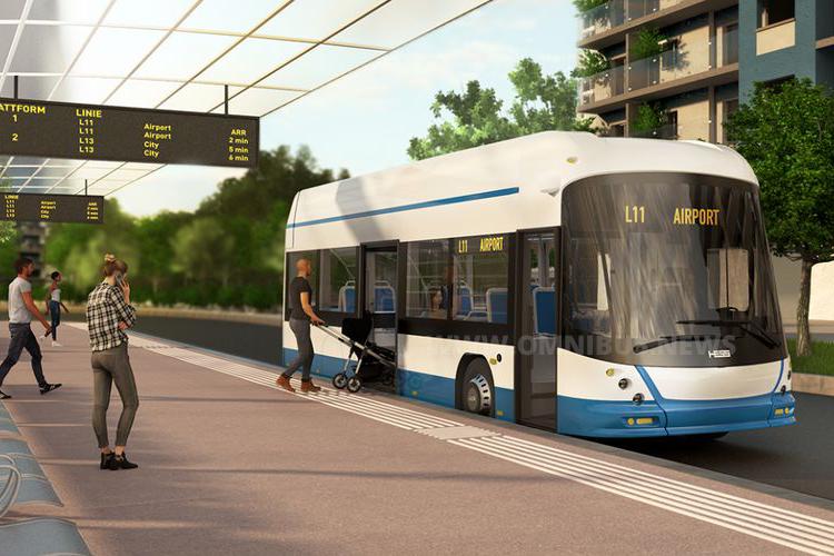 E-Quartierbusse für VBZ