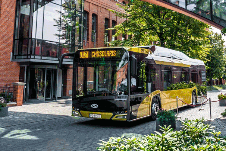 250 CNG-Solaris für Madrid