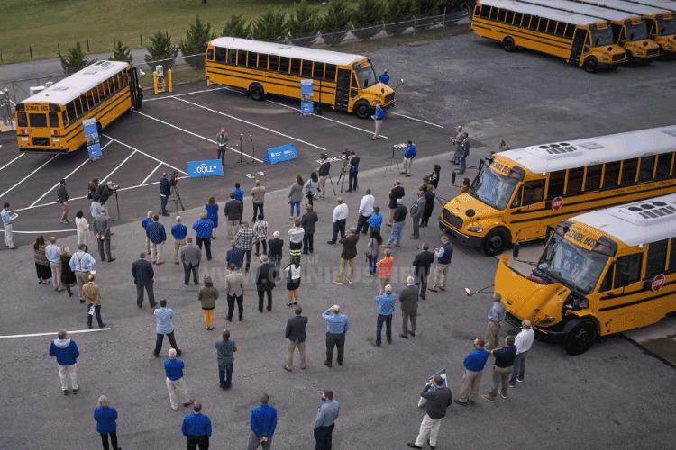 Ein Run auf E-Schulbusse