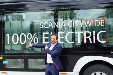 Scania Bus: E-Mobility-Plan