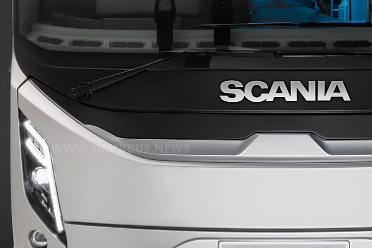 Neuer Bus von Scania
