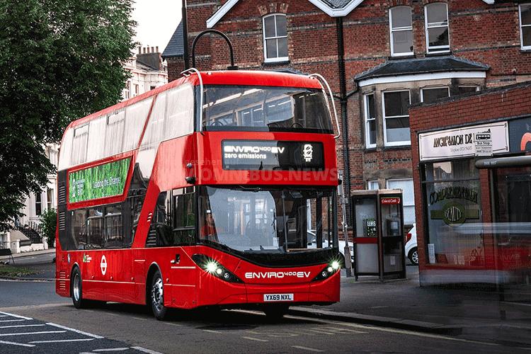 195 neue E-Busse für TfL