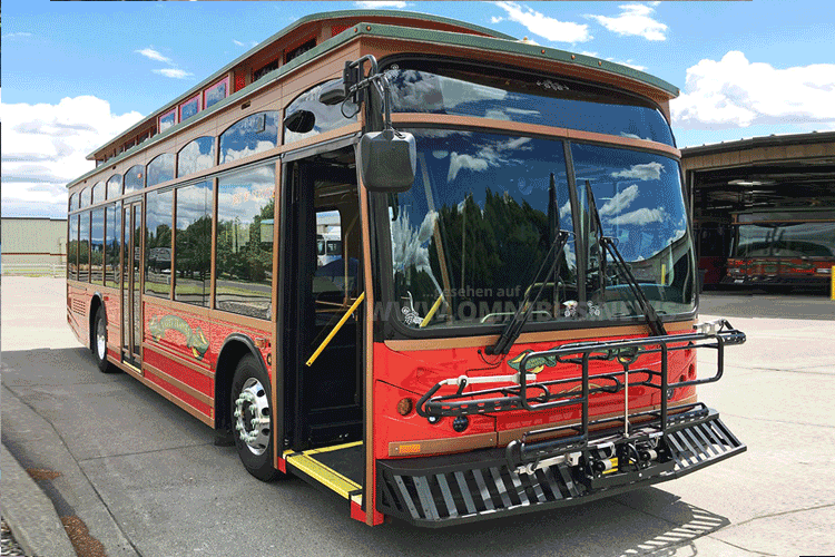 A cable car named BYD…