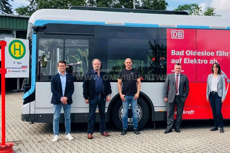 Autokraft testet E-Bus