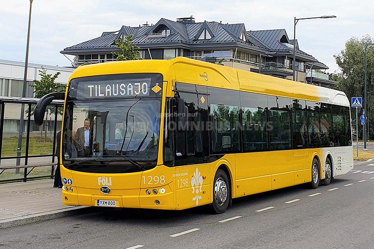 15m E-Bus-Premiere