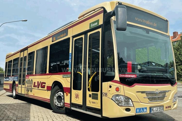 Retro-Bus zum Jubiläum