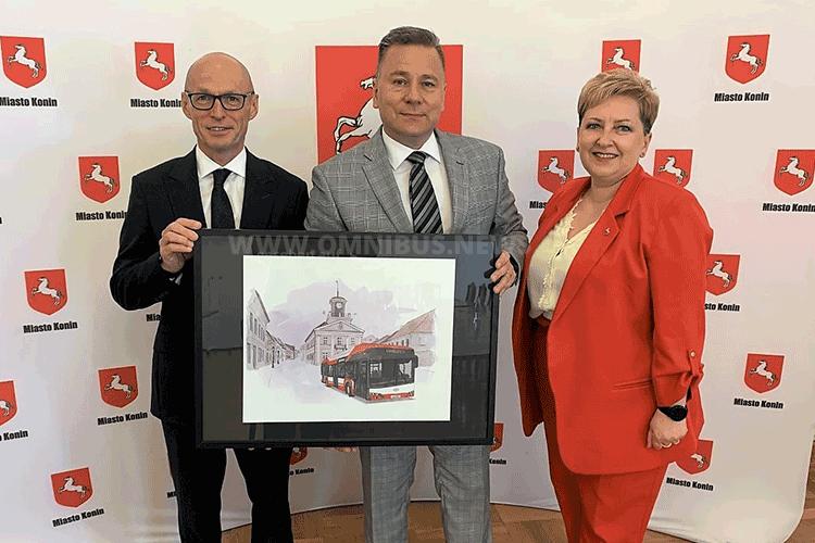 1. Urbino hydrogen für Polen