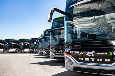 Neue Wieselbusse