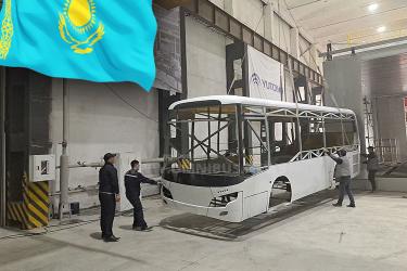 Yutong aus Kasachstan