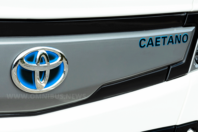 Caetano mit Toyota-Logo