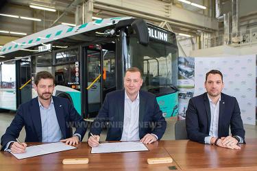 100 Erdgasbusse für Tallinn