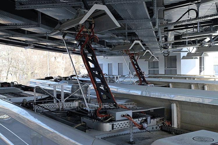 Ladeinfrastruktur von SBRS
