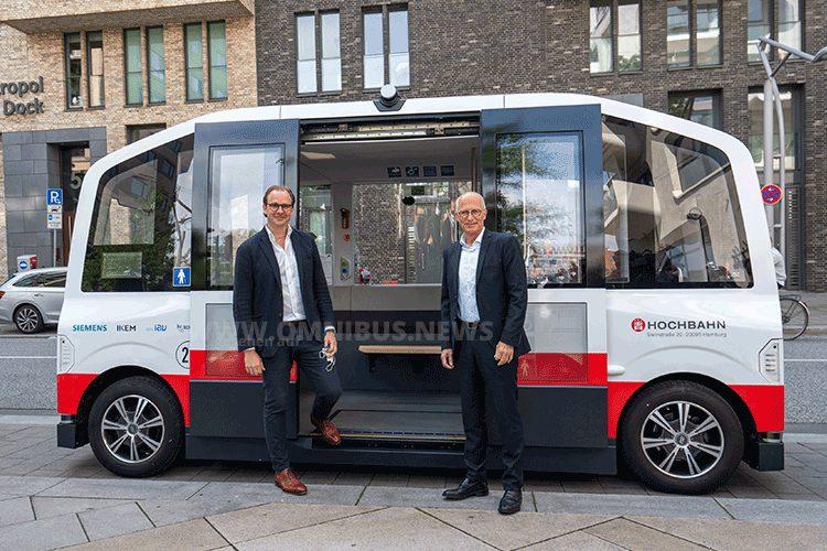 Hochbahn fährt autonom