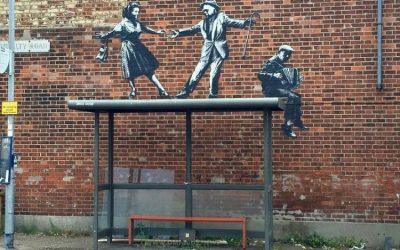 Fährt Banksy auch Bus?