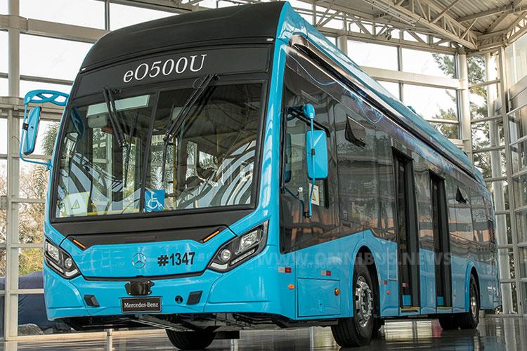 E-Bus von MB Brasil & Caio