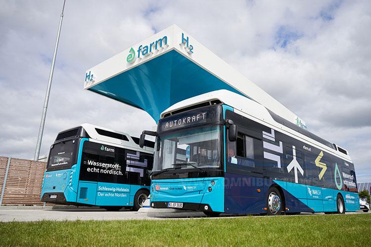 H2-Tankstelle für Bus, Lkw & Pkw