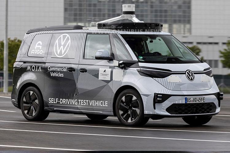 Autonomer ID.Buzz von VW