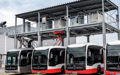 1,25 Mrd. Euro für E-Busse
