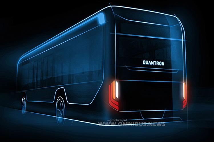 Neuer E-Bus von Quantron
