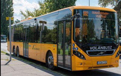 50 Volvo für Volánbusz