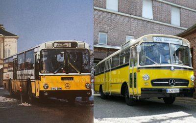 Bus-Oldtimer verbrannt