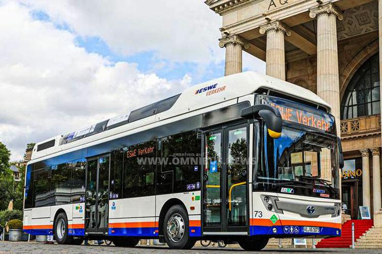 Erster FuelCell-Bus für Eswe