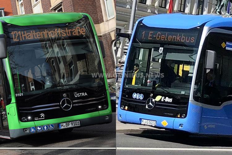 Stop & Go bei E-Bussen