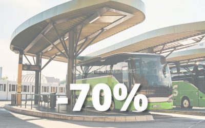 Fahrgastrückgang -70%