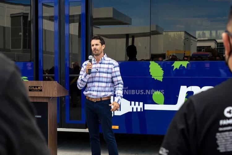 Gillig liefert 100sten E-Bus