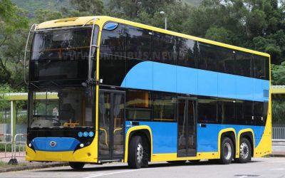 Neuer E-Bus-Doppeldecker