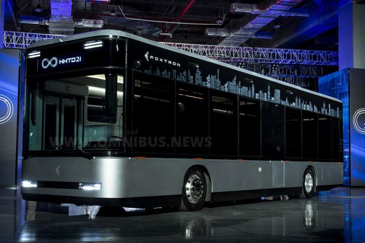 Neuer E-Bus namens Model T