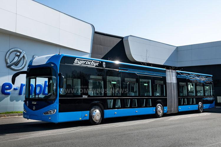 44 E-Busse für Burgas Bus